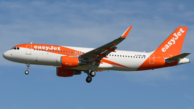 G-EZPL - Airbus A320-214 - easyJet