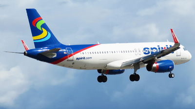A picture of N637NK - Airbus A320232 - Spirit Airlines - © Rupert Haughton - Jamaica MBJ Spotter