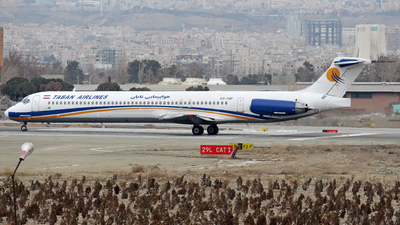 EP-TBF - McDonnell Douglas MD-88 - Taban Air