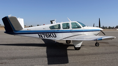 N76KU - Beechcraft S35 Bonanza - Private