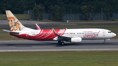 VT-AXI - Boeing 737-8HJ - Air India Express