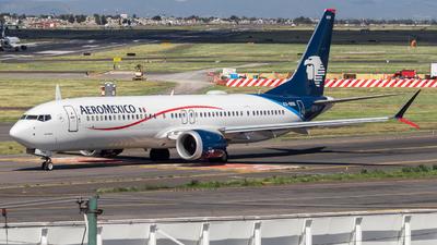XA-BBB - Boeing 737-9 MAX - Aeromexico