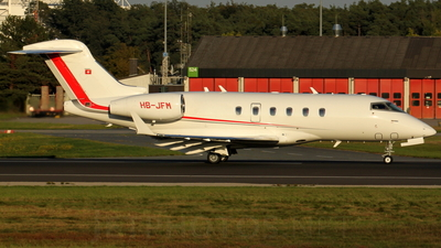 HB-JFM - Bombardier BD-100-1A10 Challenger 300 - Private