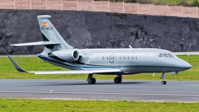 EC-MLA - Dassault Falcon 2000S - Gestair Private Jets