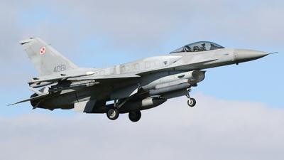 4061 - Lockheed Martin F-16CJ Fighting Falcon - Poland - Air Force