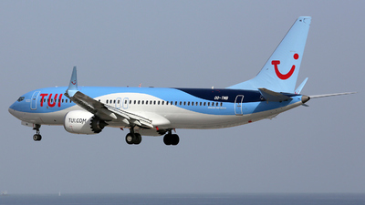 A picture of OOTMB - Boeing 737 MAX 8 - TUI fly - © Stefan Mayer