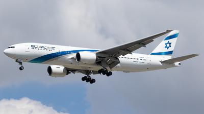 4X-ECB - Boeing 777-258(ER) - El Al Israel Airlines