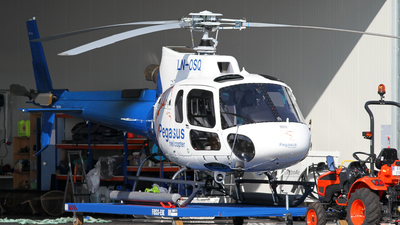 LN-OSQ - Eurocopter AS 350B2 Ecureuil - Pegasus Helicopters
