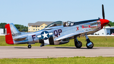 NL68JR - North American P-51D Mustang - Private