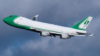 A picture of 4XICD - Boeing 7474EVF(ER) - [35169] - © Mark Szemberski