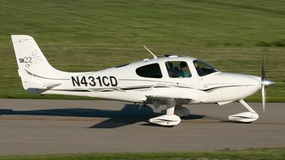 N431CD - Cirrus SR22-GTS - Private