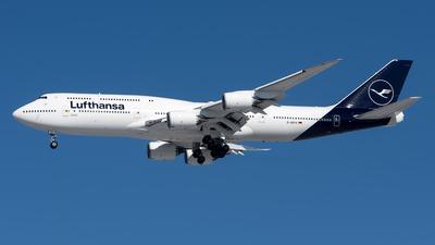 D-ABYA - Boeing 747-830 - Lufthansa