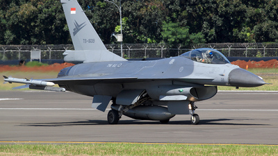 TS-1609 - General Dynamics F-16AM Fighting Falcon - Indonesia - Air Force