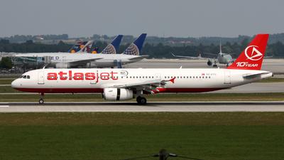 TC-ETV - Airbus A321-231 - AtlasJet