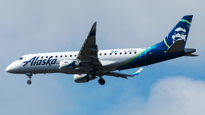 N643QX - Embraer 170-200LR - Alaska Airlines (Horizon Air)