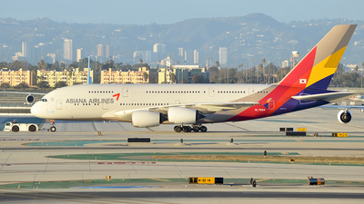 HL7634 - Airbus A380-841 - Asiana Airlines