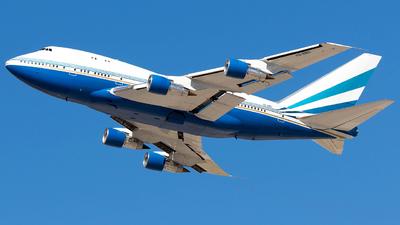 VQ-BMS - Boeing 747SP-21 - Las Vegas Sands Corporation