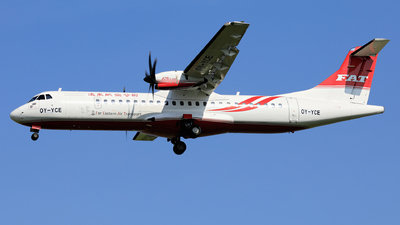OY-YCE - ATR 72-212A(600) - Far Eastern Air Transport (FAT)