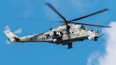 RF-34197 - Mil Mi-24V Hind E - Russia - Navy