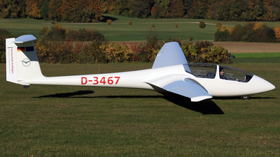 D-3467 - Schleicher ASK-21 - Private