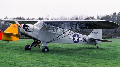 G-BCNX - Piper J-3C-65 Cub - Private