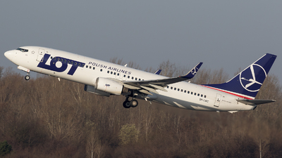 SP-LWC - Boeing 737-89P - LOT Polish Airlines
