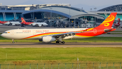 A picture of B1021 - Airbus A330343 - Hainan Airlines - © Flight Tuan