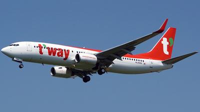 HL8069 - Boeing 737-8AS - T'Way Air