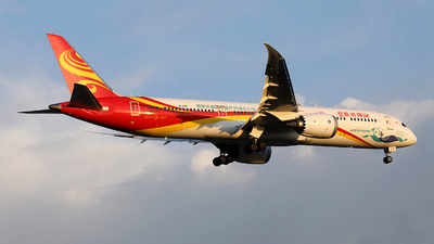 A picture of B1342 - Boeing 7879 Dreamliner - Hainan Airlines - © Liu Yonggang