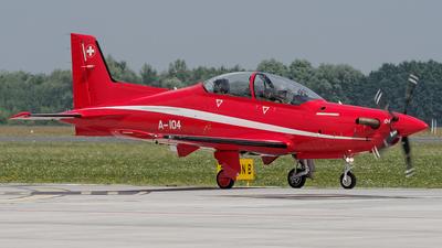 A-104 - Pilatus PC-21 - Switzerland - Air Force