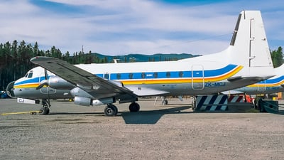 ZK-MCJ - Hawker Siddeley HS-748 Series 2A - Untitled