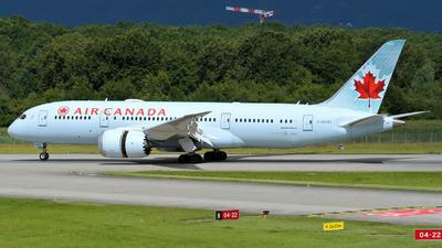 C-GHQY - Boeing 787-8 Dreamliner - Air Canada