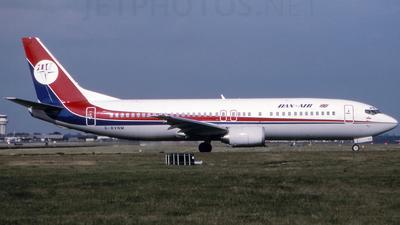 G-BVNM - Boeing 737-4S3 - Dan-Air London
