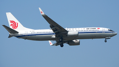 B-7180 - Boeing 737-89L - Air China