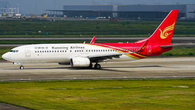A picture of B6495 - Boeing 7378LY - Kunming Airlines - © ZUCKGYQ