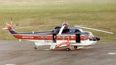 G-BAKC - Sikorsky S-61N - Bristow Helicopters
