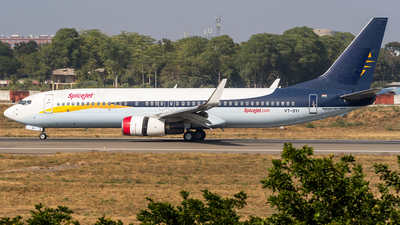 VT-SYI - Boeing 737-8AS - SpiceJet