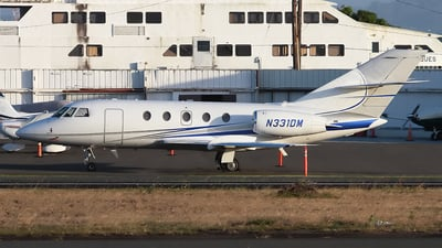 N331DM - Dassault Falcon 20F - Private