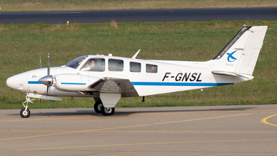 A picture of FGNSL - Beech 58 Baron - ENAC Ecole Aviation Civile - © Phil Newson