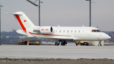 HB-JSF - Bombardier CL-600-2B16 Challenger 650 - Private