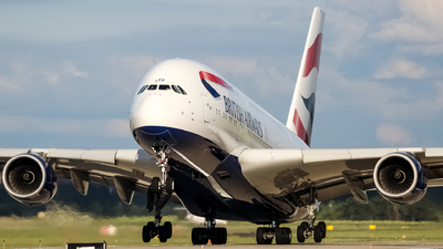 G-XLEF - Airbus A380-841 - British Airways