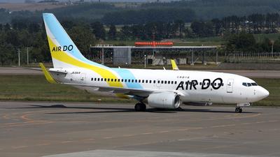 A picture of JA15AN - Boeing 737781 - Air Do - © kouyagi