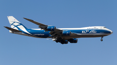 VP-BBY - Boeing 747-83QF - Air Bridge Cargo