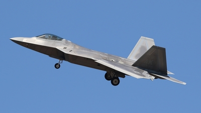 07-4147 - Lockheed Martin F-22A Raptor - United States - US Air Force (USAF)