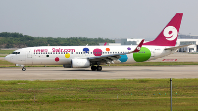 A picture of B1172 - Boeing 73786X - 9 Air - © Peteryang
