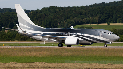 M-GEAA - Boeing 737-7JW(BBJ) - Private