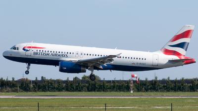 G-EUUT - Airbus A320-232 - British Airways