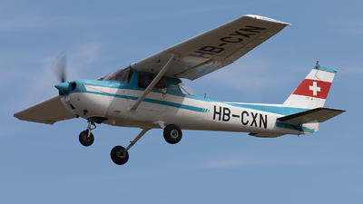 HB-CXN - Reims-Cessna F150M - Private
