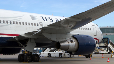 N252AU - Boeing 767-2B7(ER) - US Airways