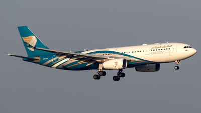 A picture of A4ODA - Airbus A330243 - Oman Air - © Eric Verplanken